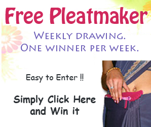 Sari Saheli Pleatmaker to Wear Sari Perfectly
