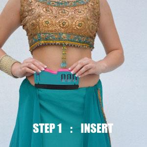 Wear Perfect Sari Tip no 1