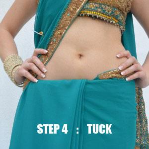 Wear Perfect Sari Tip no 4